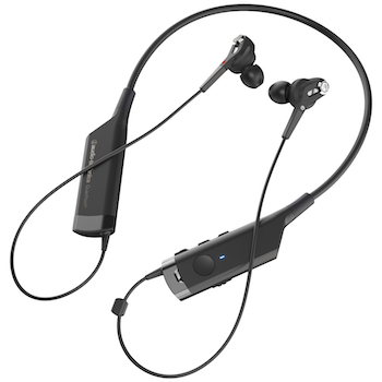Product image of Audio Technica ATH-ANC40BT In-Ear Noise Cancelling Bluetooth Earphones - Click for product page of Audio Technica ATH-ANC40BT In-Ear Noise Cancelling Bluetooth Earphones