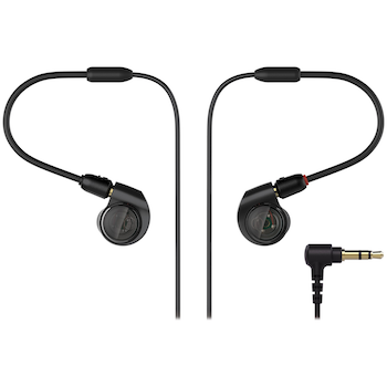 Product image of Audio Technica ATH-E40 Professional In-Ear Monitor Headphones - Click for product page of Audio Technica ATH-E40 Professional In-Ear Monitor Headphones