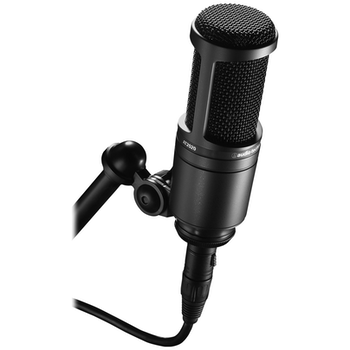 Product image of Audio Technica AT2020 Cardioid Condenser Studio Microphone - Click for product page of Audio Technica AT2020 Cardioid Condenser Studio Microphone