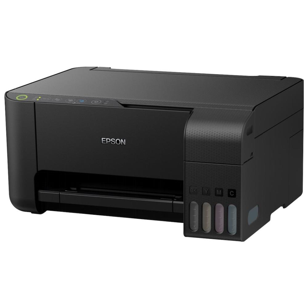 A large main feature product image of Epson EcoTank Colour ET-2710 Multifunction Printer