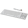 A product image of Matias Silver Wired Aluminium Tenkeyless Keyboard for Mac