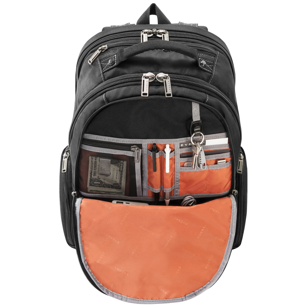 A large main feature product image of Everki Atlas Checkpoint Friendly Laptop Backpack