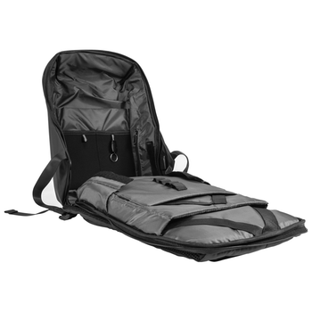 "Product image of Fixita Guardian 15.6"" Black Notebook Backpack - Click for product page of Fixita Guardian 15.6"" Black Notebook Backpack"