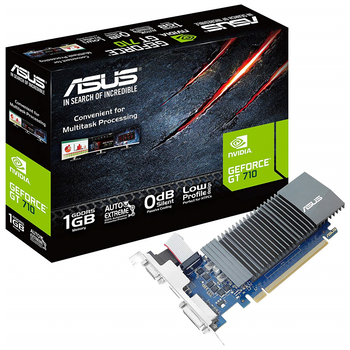 Product image of ASUS GeForce GT710 1GB GDDR5 - Click for product page of ASUS GeForce GT710 1GB GDDR5