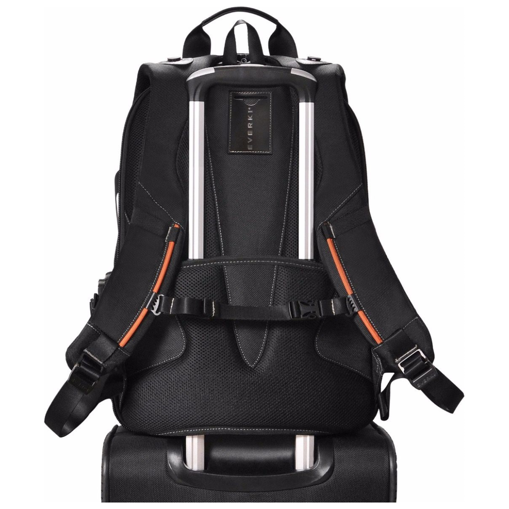 A large main feature product image of Everki Concept 2 Premium Travel Friendly Laptop Backpack, up to 17.3-inch