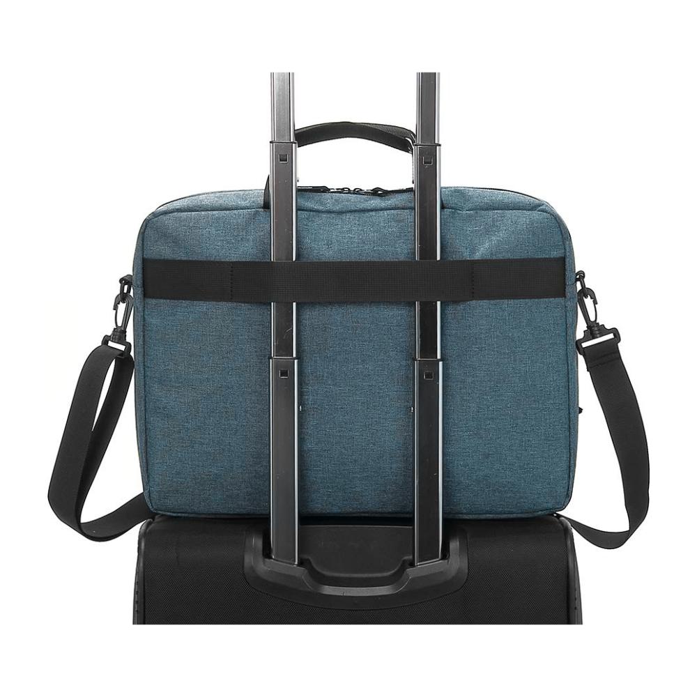 "A large main feature product image of Fixita Urban 15.6"" Grey Messenger Notebook Bag"