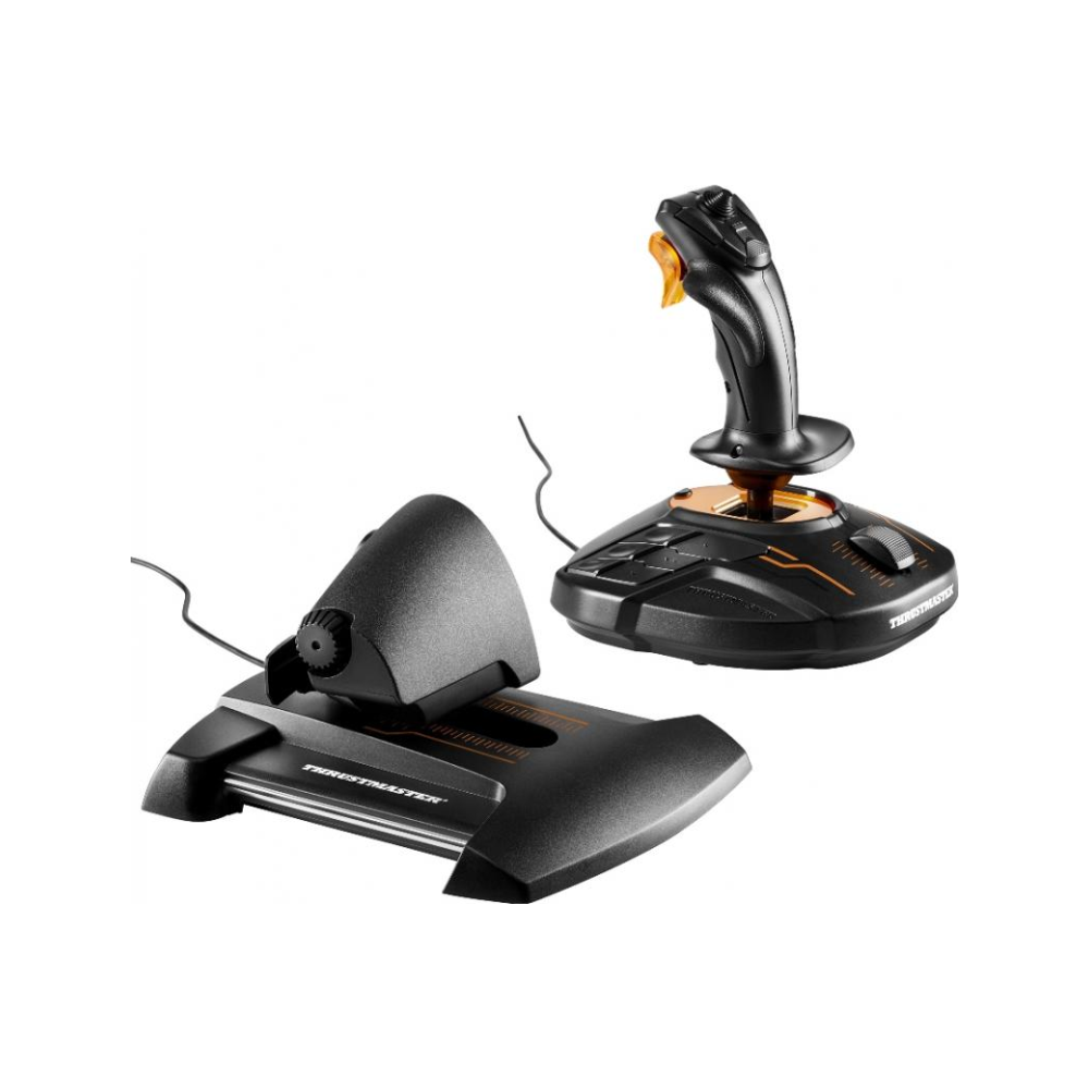 A large main feature product image of Thrustmaster T.16000M FCS HOTAS For PC