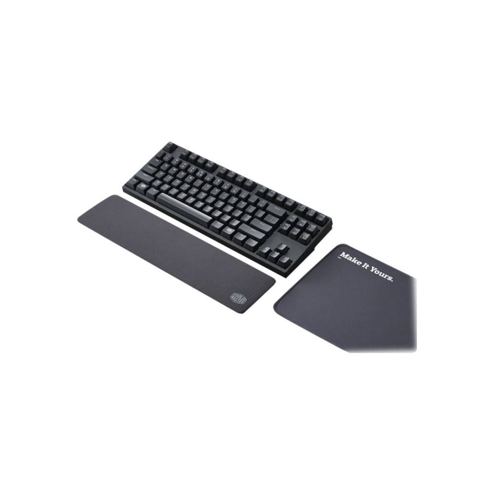 A large main feature product image of Cooler Master Wrist Rest Black
