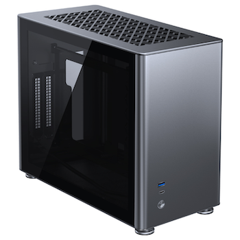 Product image of Jonsbo A4 Grey mITX Case - Click for product page of Jonsbo A4 Grey mITX Case