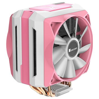 Product image of Jonsbo CR-1100 Pink Addressable RGB LED CPU Cooler - Click for product page of Jonsbo CR-1100 Pink Addressable RGB LED CPU Cooler