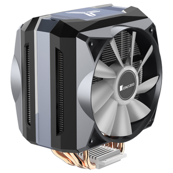 Product image of Jonsbo CR-1100 Grey Addressable RGB LED CPU Cooler - Click for product page of Jonsbo CR-1100 Grey Addressable RGB LED CPU Cooler