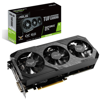 Product image of ASUS GeForce GTX1660 Super TUF Gaming X3 6GB GDDR6 - Click for product page of ASUS GeForce GTX1660 Super TUF Gaming X3 6GB GDDR6