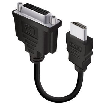 Product image of EX-DEMO ALOGIC 15cm HDMI to DVI-D Adapter Cable - Click for product page of EX-DEMO ALOGIC 15cm HDMI to DVI-D Adapter Cable