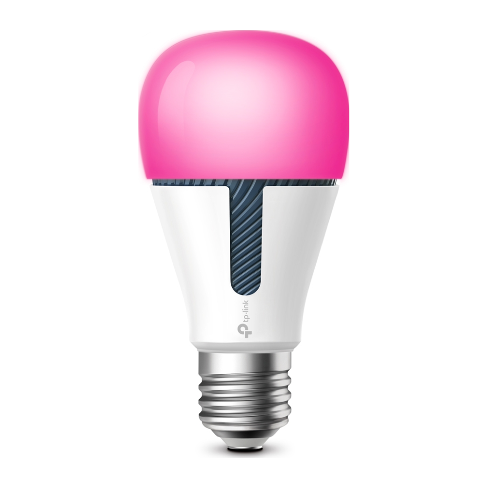 A large main feature product image of TP-LINK KL130 Kasa Smart LED Bulb