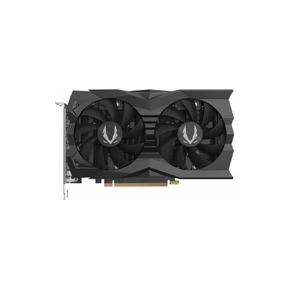 A large main feature product image of ZOTAC GAMING Geforce RTX2070 Super Mini 8GB GDDR6