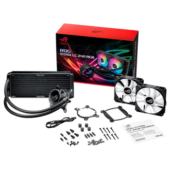 Product image of ASUS ROG Strix LC 240mm RGB AIO Liquid Cooler - Click for product page of ASUS ROG Strix LC 240mm RGB AIO Liquid Cooler