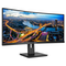 "A small tile product image of Philips 346B1C 34"" WQHD 5MS Curved VA LED Monitor"