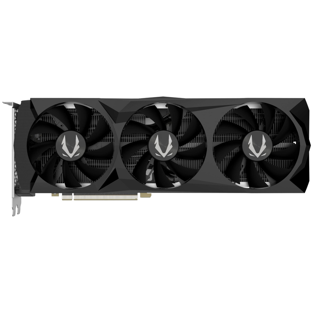 A large main feature product image of ZOTAC GAMING Geforce RTX2080 Super Triple Fan 8GB GDDR6