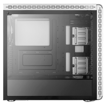 Product image of Cooler Master MasterBox MS600 Silver Mid Tower Case w/Tempered Glass Side Panel - Click for product page of Cooler Master MasterBox MS600 Silver Mid Tower Case w/Tempered Glass Side Panel