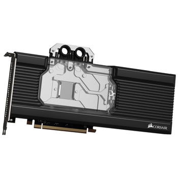 Product image of Corsair Hydro X Series XG7 RGB (5700 XT) GPU Waterblock - Click for product page of Corsair Hydro X Series XG7 RGB (5700 XT) GPU Waterblock