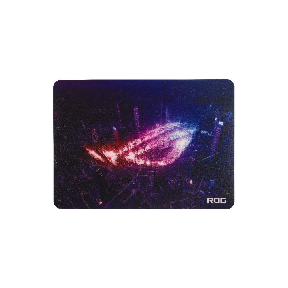 A large main feature product image of ASUS ROG Strix Slice Gaming Mousemat