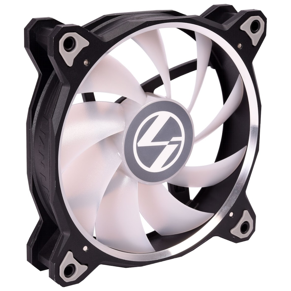 A large main feature product image of Lian-Li Bora Lite RGB 120mm PWM Fans - 3 Pack Black