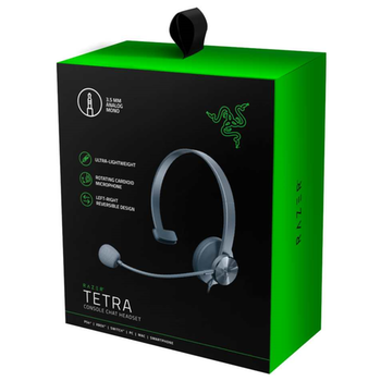 Product image of Razer Tetra Wired Console Chat Headset - Click for product page of Razer Tetra Wired Console Chat Headset