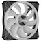 A small tile product image of Corsair iCue QL120 120mm RGB PWM Single Fan