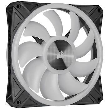 Product image of Corsair iCue QL140 140mm RGB PWM Single Fan - Click for product page of Corsair iCue QL140 140mm RGB PWM Single Fan