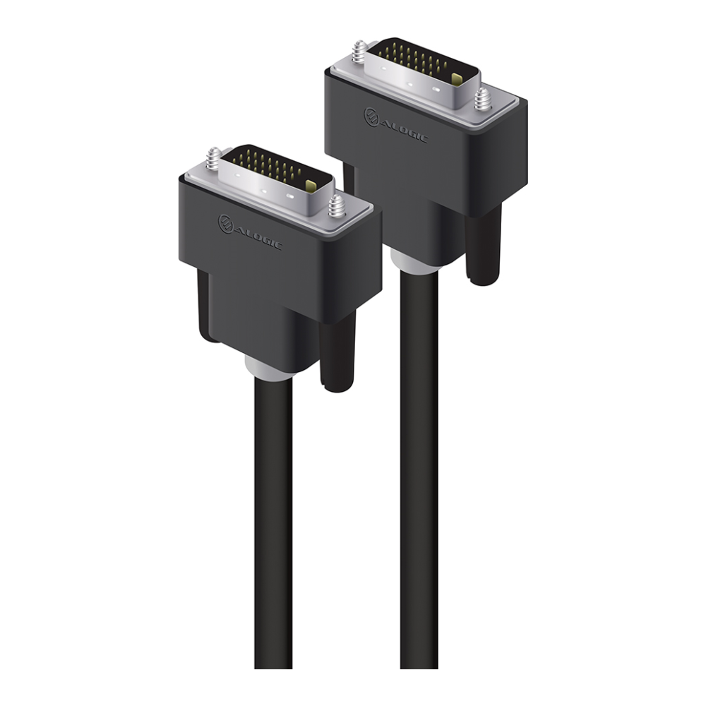 A large main feature product image of ALOGIC DVI-D Dual Link 3m Digital Video Cable