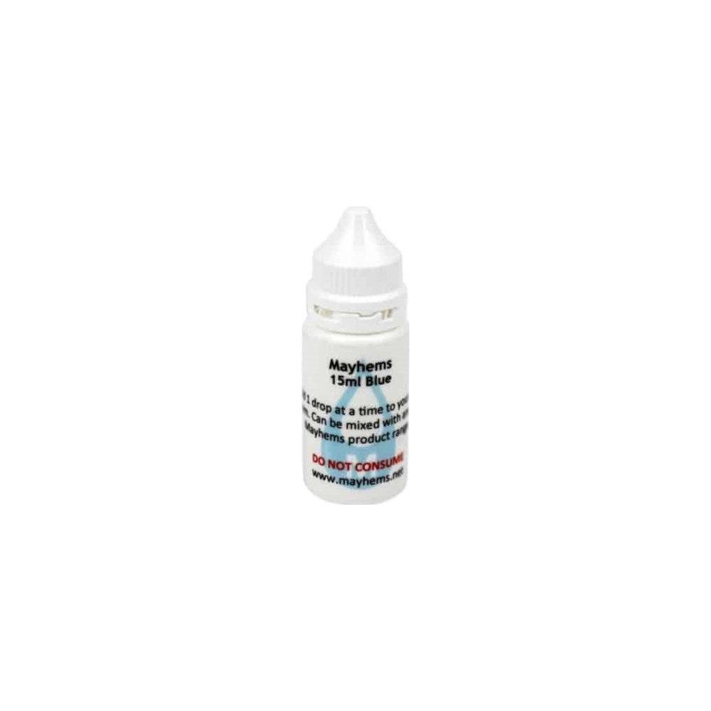 A large main feature product image of Mayhems Non-Stain Blue 15ml Dye