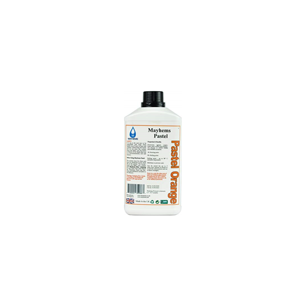 A large main feature product image of Mayhems Pastel Orange 250ml Concentrate