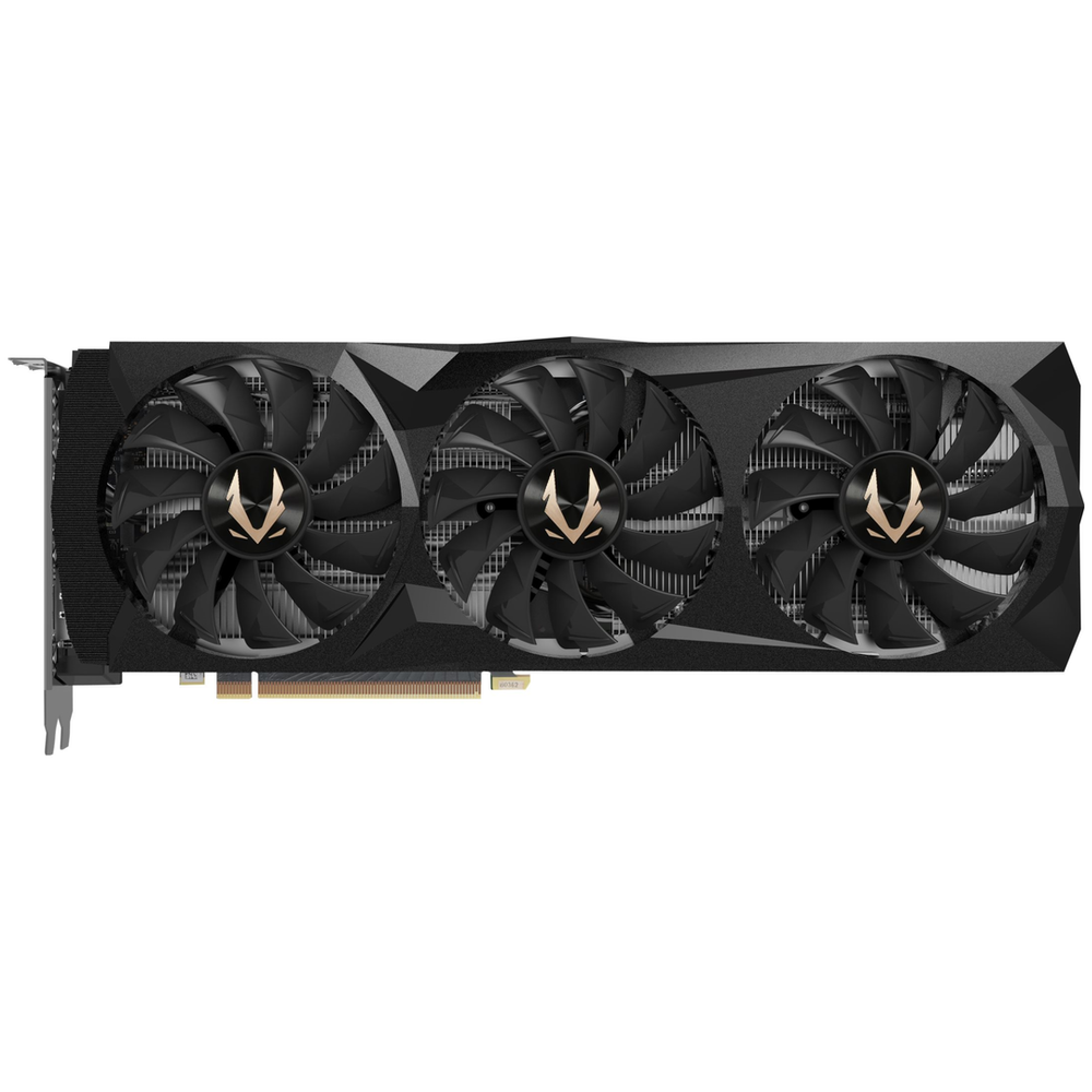 A large main feature product image of ZOTAC GAMING Geforce RTX2080Ti Triple Fan 11GB GDDR6