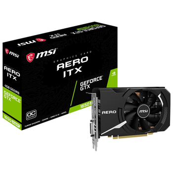 Product image of MSI GeForce GTX 1650 Super Aero ITX OC 4GB GDDR6 - Click for product page of MSI GeForce GTX 1650 Super Aero ITX OC 4GB GDDR6