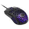 A product image of Cooler Master MasterMouse MM711 Matte Black RGB Lightweight Gaming Mouse