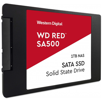 "Product image of WD Red SA500 2.5"" 1TB NAS SSD - Click for product page of WD Red SA500 2.5"" 1TB NAS SSD"