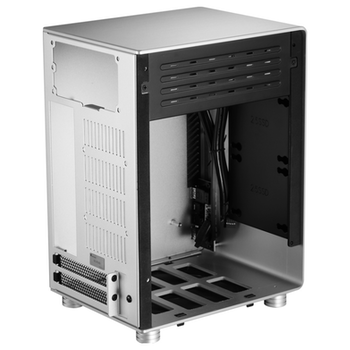 Product image of Jonsbo U1 Plus Silver Mini ITX Case w/Tempered Glass Side Panel - Click for product page of Jonsbo U1 Plus Silver Mini ITX Case w/Tempered Glass Side Panel