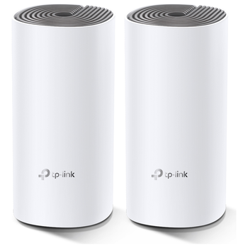 Product image of TP-LINK Deco E4 Wireless-AC1200 WiFi 5 Mesh Router - 2 Pack - Click for product page of TP-LINK Deco E4 Wireless-AC1200 WiFi 5 Mesh Router - 2 Pack