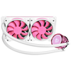 A product image of ID-COOLING PinkFlow 240 Addressable RGB AIO CPU Liquid Cooler
