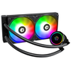 A product image of ID-COOLING ZoomFlow 240X Addressable RGB AIO CPU Liquid Cooler