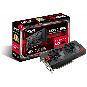 Product image of ASUS Radeon RX570 EX 4GB GDDR5 - Click for product page of ASUS Radeon RX570 EX 4GB GDDR5