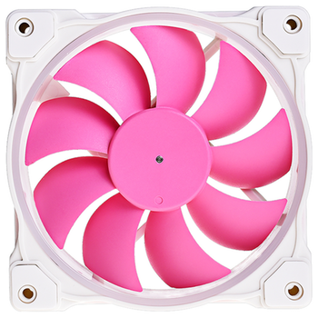 Product image of ID-COOLING ZF Series 120mm Pink Addressable RGB LED Fan - Click for product page of ID-COOLING ZF Series 120mm Pink Addressable RGB LED Fan