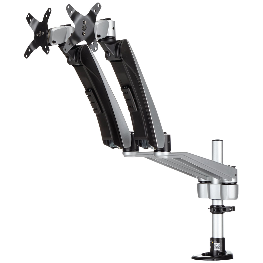 A large main feature product image of Startech Dual Monitor Mount with Full-Motion Arms