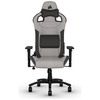 A product image of Corsair T3 RUSH Gaming Chair - Grey/Charcoal