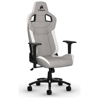 Product image of Corsair T3 RUSH Gaming Chair - Grey/White - Click for product page of Corsair T3 RUSH Gaming Chair - Grey/White