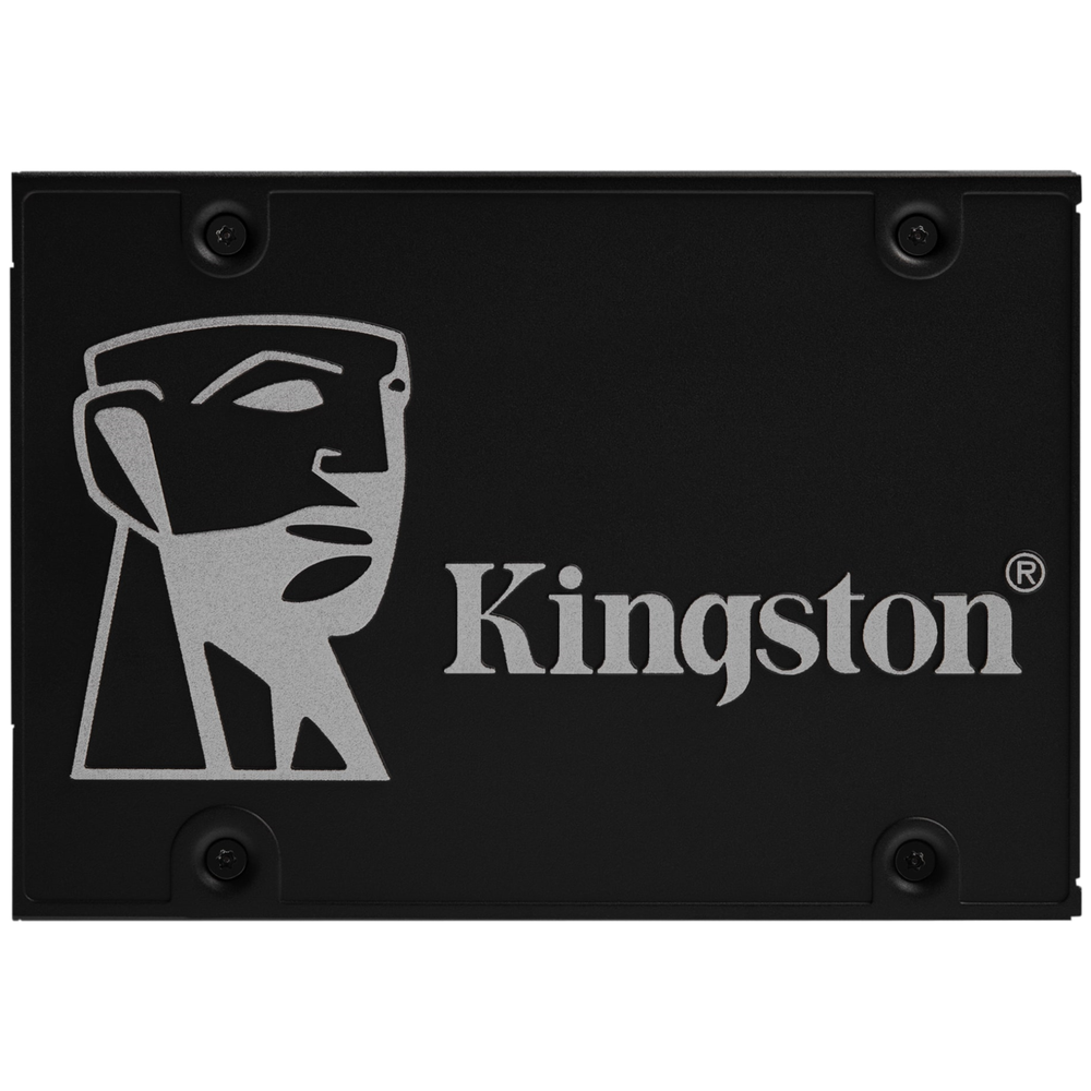 "A large main feature product image of Kingston KC600 512GB 2.5"" SSD"