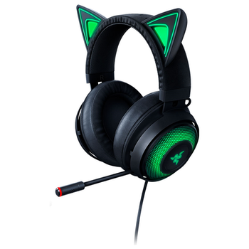 Product image of Razer Kraken Kitty - Chroma USB Gaming Headset - Black - Click for product page of Razer Kraken Kitty - Chroma USB Gaming Headset - Black