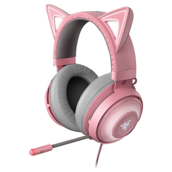 Product image of Razer Kraken Kitty - Chroma USB Gaming Headset - Quartz - Click for product page of Razer Kraken Kitty - Chroma USB Gaming Headset - Quartz