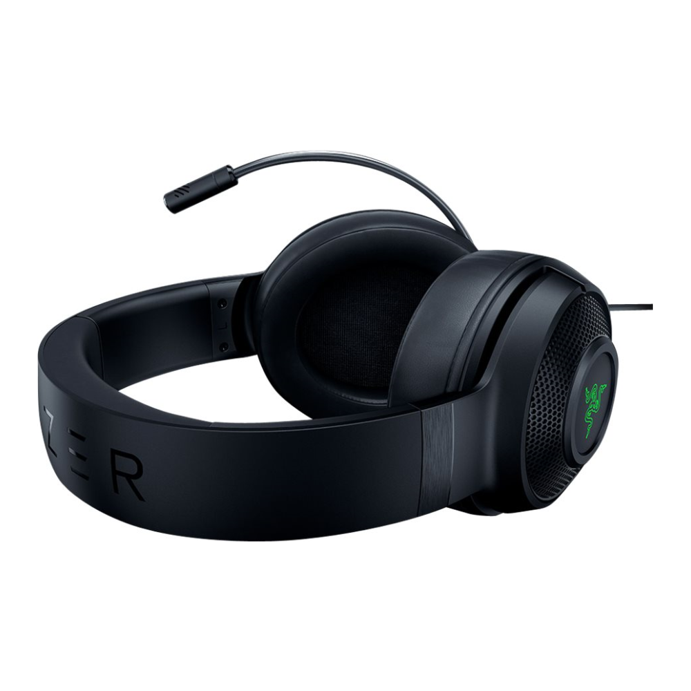 A large main feature product image of Razer Kraken X USB – Digital Surround Sound Gaming Headset