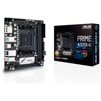 Product image of ASUS PRIME A320I-K/CSM AM4 mITX Desktop Motherboard - Click for product page of ASUS PRIME A320I-K/CSM AM4 mITX Desktop Motherboard